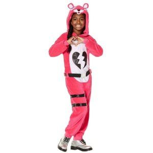 Girls Fortnite Cuddle Team Leader Costume- 10/12